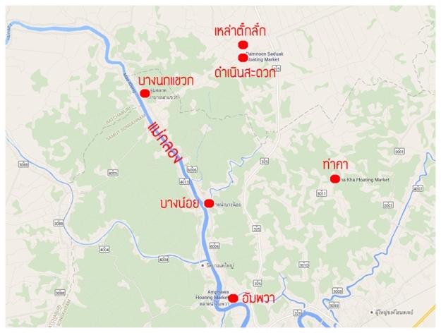 Map 6 ตลาด